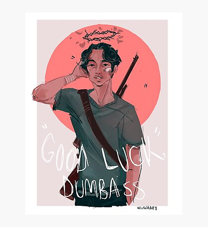Glenn Rhee Is 100% Ok And Not Dead Photographic Print