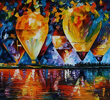 AIR FESTIVAL - LEONID AFREMOV by Leonid  Afremov
