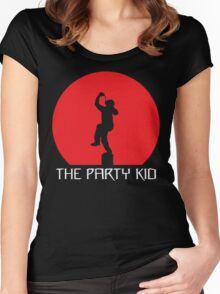 The Party Kid Women's Fitted Scoop T-Shirt
