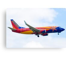 N383SW Arizona One Southwest Airlines Boeing 737-7H4 Approach Canvas Print