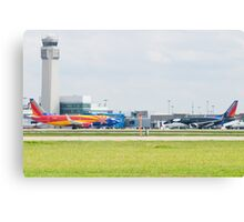 N383SW N715SW Southwest Airlines Arizona One Shamu Nose to Nose Canvas Print
