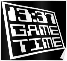 Game Time 13:37 Poster