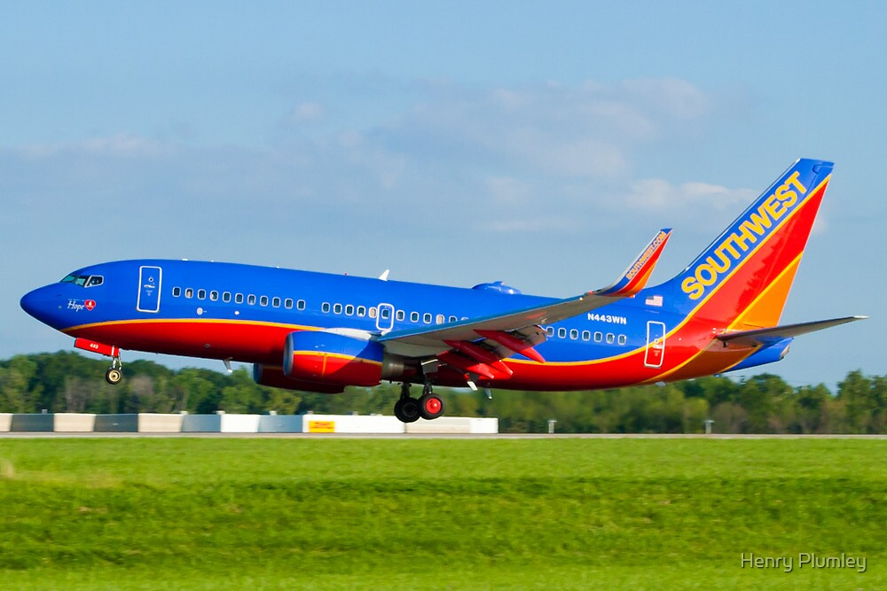 N443WN Southwest Airlines Boeing 737-7H4 by Henry Plumley