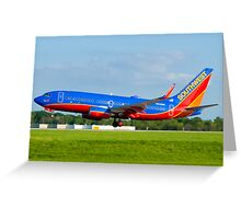 N443WN Southwest Airlines Boeing 737-7H4 Greeting Card