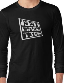Game Time 13:37 Long Sleeve T-Shirt