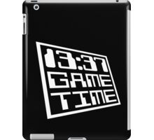 Game Time 13:37 iPad Case/Skin