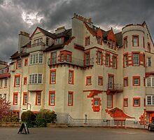Ramsay Garden from the Esplanade by Tom Gomez