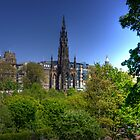 Scott Monument  II by Tom Gomez