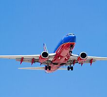 Southwest Airlines Belly by Henry Plumley
