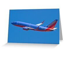 Southwest Airlines N263WN Greeting Card
