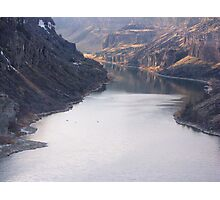 The Bottom of Shoshone Falls Snake River-2008 Photographic Print