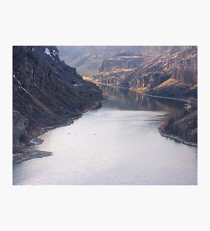 The Bottom of Shoshone Falls Snake River-2008 Photographic Print