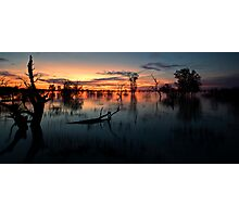 End of the Day - Menindee NSW Photographic Print