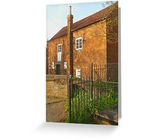 the mill cottage sleaford Greeting Card