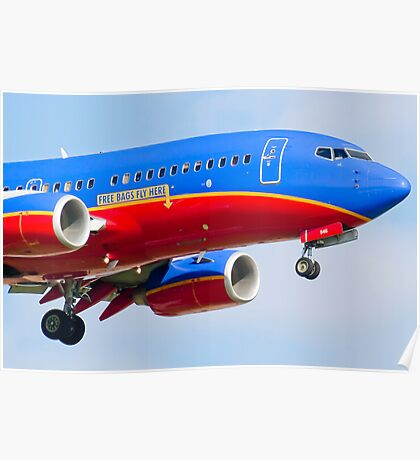 N946WN, Southwest Airlines Boeing 737-3H4 Poster