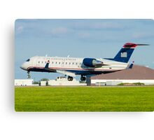 N428AW US Airways Express CL-600-2B19 Canvas Print
