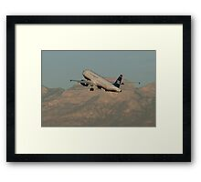 N631AW US Airways Airbus A320-231 Framed Print