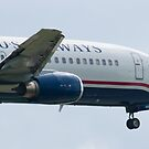 Nose Side Shot N440US US Airways Boeing 737-4B7 by Henry Plumley
