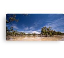 Lake Speculation Canvas Print