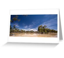 Lake Speculation Greeting Card