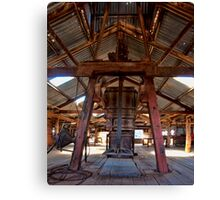 Kinchega Wool Press - Menindee, NSW Canvas Print
