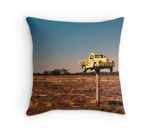 It Pays to Advertise - Pooncarie NSW Throw Pillow