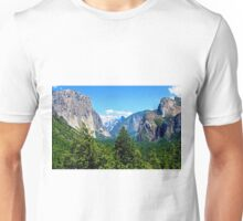The Beautiful Yosemite Valley Unisex T-Shirt