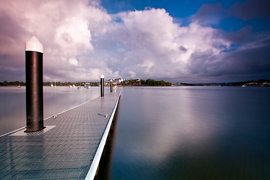Not a Ripple - Canada Bay, NSW by Malcolm Katon