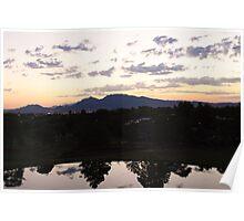 Dawn Breaks Frenchman Mountain Poster