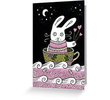 Sugar Spun Ocean Greeting Card