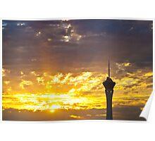New Day Dawns Sunrise Poster