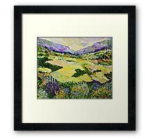 Cool Grass Framed Print