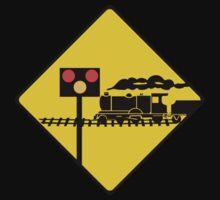 Level Crossing Sign, Ireland One Piece - Short Sleeve