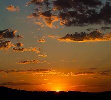 Orange Winning Sunrise by Henry Plumley