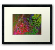 Time-machine Framed Print