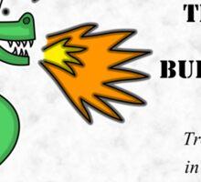 Trogdor the Burninator - Peasants Sticker