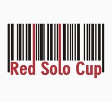 Red Solo Cup - Bar Code by mrtdoank