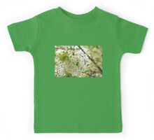 Dreamy White Blossoms - Impressions Of Spring Kids Tee