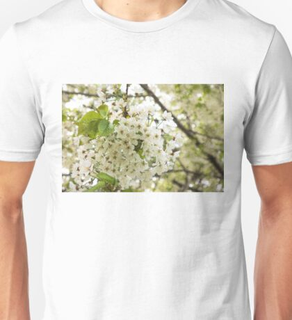 Dreamy White Blossoms - Impressions Of Spring Unisex T-Shirt