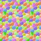 Bright Colorfull Circle Pattern by kotopes