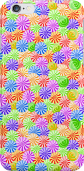 Bright Colorfull Circle Pattern by kotopes