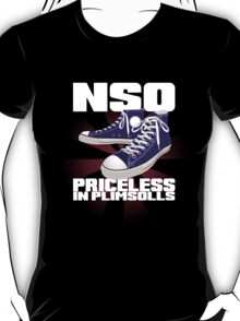 Roller Derby NSO - Priceless in Plimsolls T-Shirt