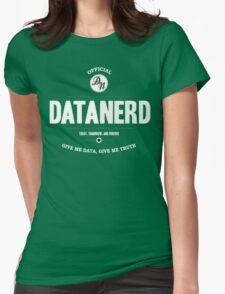 Data Nerd  Womens Fitted T-Shirt