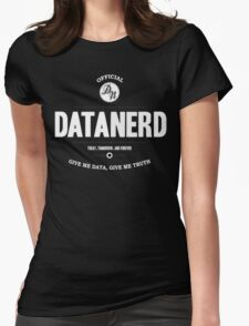Data Nerd  Womens Fitted T-Shirt
