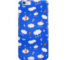 Clouds and Lights in Blu Sky iPhone Case/Skin
