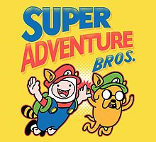 Super Adventure Bros by TimonPower77