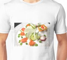 Smoked Trout with Friends Tricolore Unisex T-Shirt