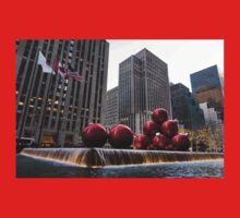 A Christmas Card from New York City - Fifth Avenue Sophistication Kids Tee