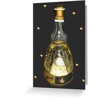 ❀◕‿◕❀BOLS BALLERINA COLLECTABLE BOTTLE ❀◕‿◕❀   Greeting Card