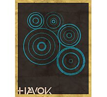Minimalist Havok Photographic Print